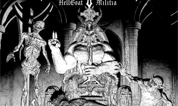 Christfuck - Hellgoat Militia album cover