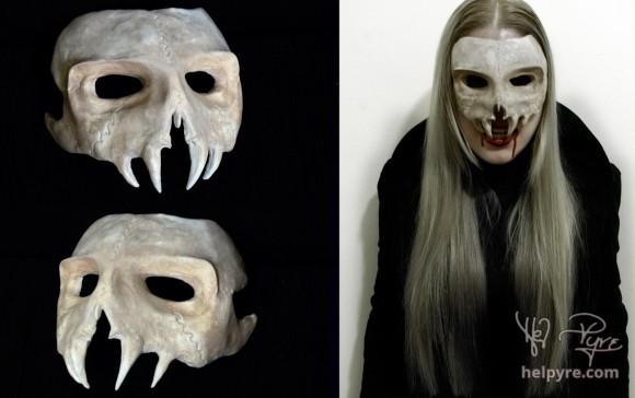 Vampire Skull Mask